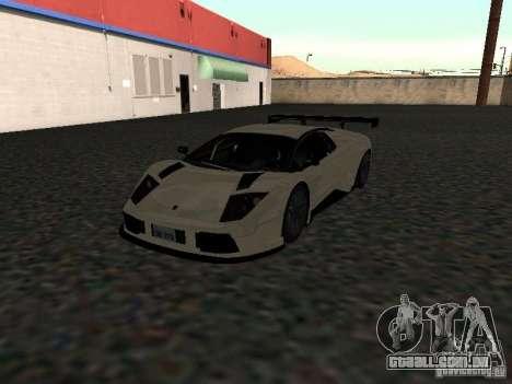 Lamborghini Murcielago R-GT para GTA San Andreas vista direita