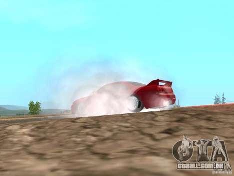 Fumaça e novas água de texturas para GTA San Andreas quinto tela