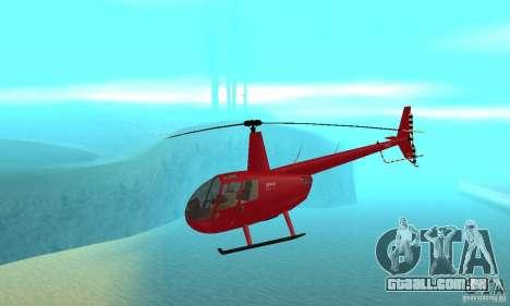 Robinson R44 Raven II NC 1.0 pele 1 para GTA San Andreas