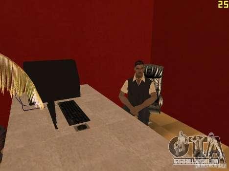Ganton Cyber Cafe Mod v1.0 para GTA San Andreas segunda tela
