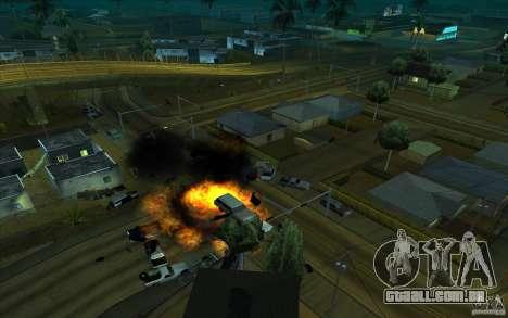 Desenho para GTA San Andreas por diante tela