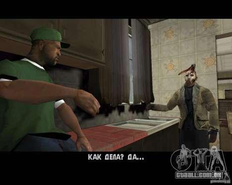 Jason Voorhees para GTA San Andreas sexta tela