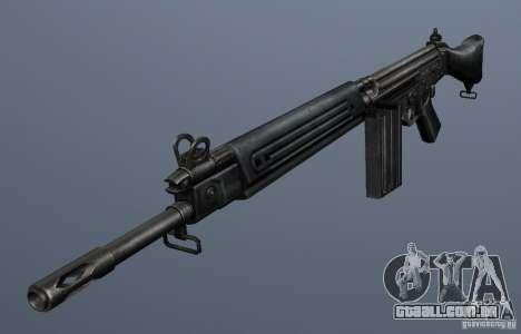 FN FAL para GTA San Andreas segunda tela
