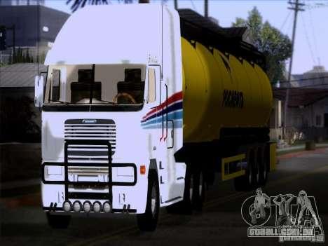Freightliner Argosy Skin 3 para GTA San Andreas vista traseira