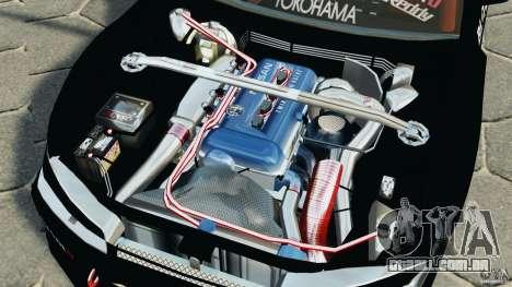 Nissan Silvia S15 HKS para GTA 4 vista lateral