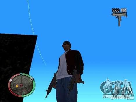 Alterar o estilo de corte e Usi para GTA San Andreas por diante tela