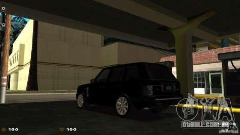 Cs 1.6 HUD para GTA San Andreas terceira tela