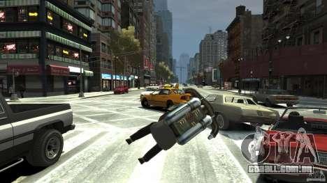 Jetpack para GTA 4 vista de volta