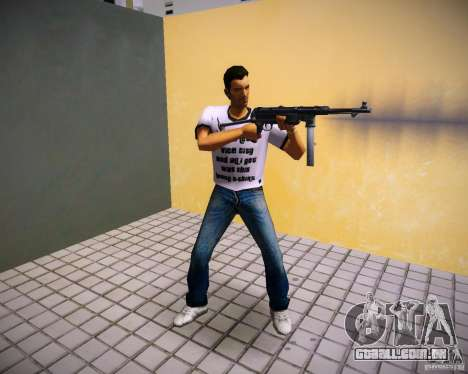 MP-40 para GTA Vice City terceira tela