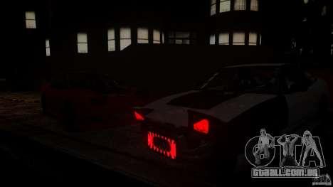 Nissan 240SX Korch para GTA 4 traseira esquerda vista