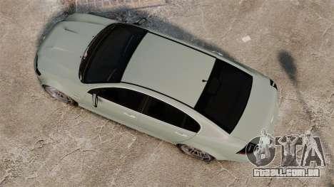 Chevrolet Lumina 2009 Mr. Bolleck Edition para GTA 4 vista direita