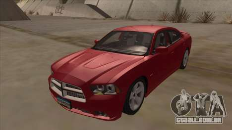 Dodge Charger RT 2011 V1.0 para GTA San Andreas