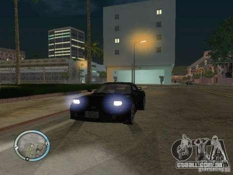 New GTA IV HUD 1 para GTA San Andreas por diante tela