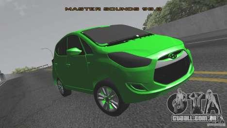 Hyundai ix20 para GTA San Andreas vista direita