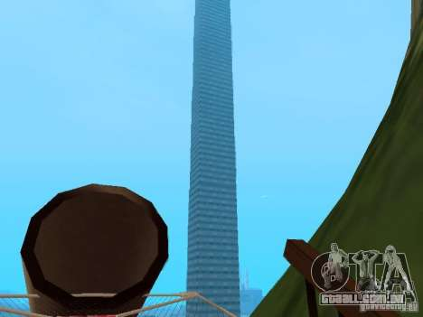 (Ilha Mounth na água) para GTA San Andreas terceira tela