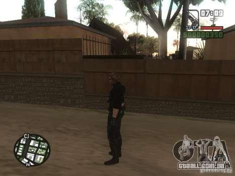 Wesker de RE5 para GTA San Andreas sexta tela