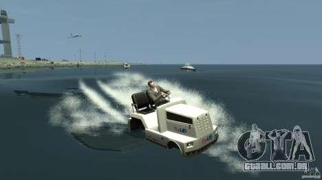 Airtug boat para GTA 4 esquerda vista