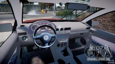 Volkswagen Bora para GTA 4 vista de volta