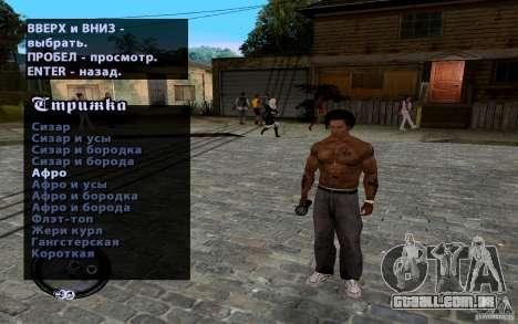CJ novo para GTA San Andreas nono tela
