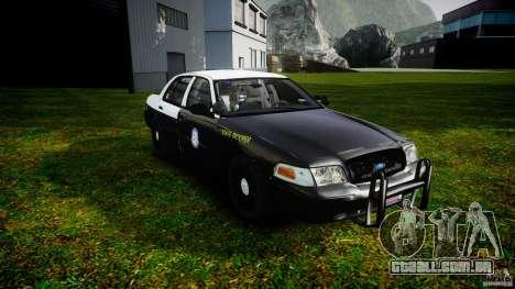 Ford Crown Victoria 2003 Florida CVPI [ELS] para GTA 4 vista de volta