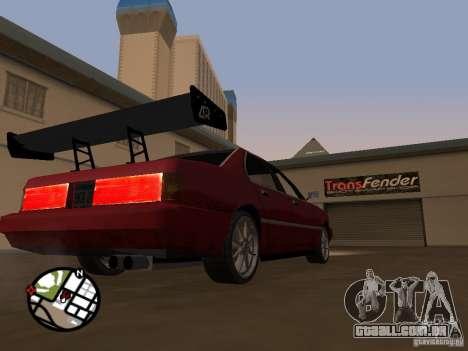 Novas peças para tuning para GTA San Andreas sexta tela