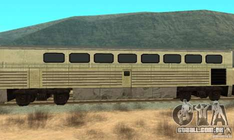 New Streak Skin para GTA San Andreas traseira esquerda vista