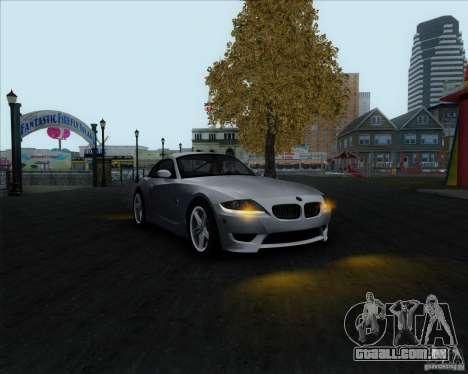 BMW Z4M para GTA San Andreas vista direita