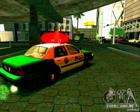 Ford Crown Victoria 2003 Police Interceptor VCPD para GTA San Andreas vista direita