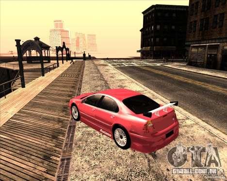 Chrysler 300M tuning para vista lateral GTA San Andreas