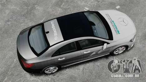 Mercedes-Benz CLA 250 2014 para GTA 4 vista direita