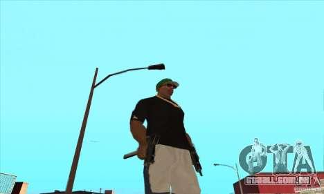 WEAPON BY SWORD para GTA San Andreas twelth tela