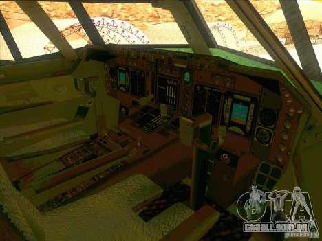 Boeing E-767 para GTA San Andreas vista superior