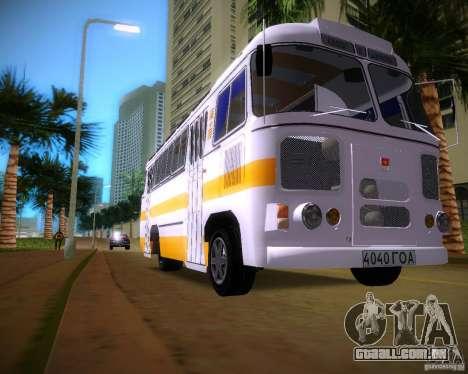 Paz-672 para GTA Vice City deixou vista