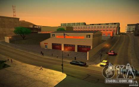 Departamento de fogo HD para GTA San Andreas segunda tela