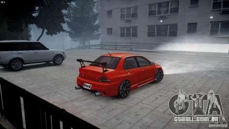 Mitsubishi Lancer Evolution 8 v2.0 para GTA 4 esquerda vista
