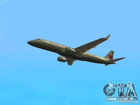 Embraer ERJ 190 Air Canada para GTA San Andreas