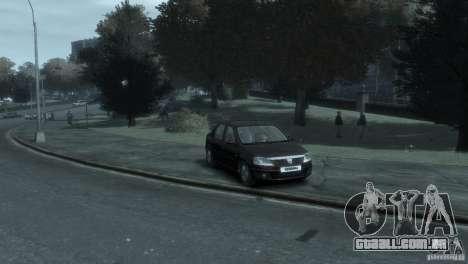 RENAULT LOGAN para GTA 4 esquerda vista