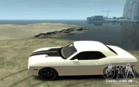Dodge Challenger Concept para GTA 4 esquerda vista