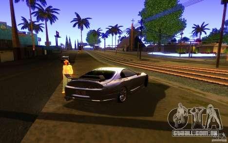 Toyota Supra Rz The bloody pearl 1998 para GTA San Andreas esquerda vista
