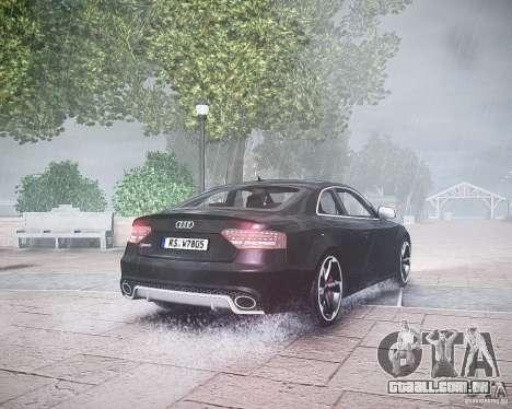 Audi RS5 2010 para GTA 4 vista direita
