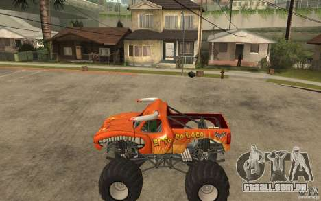 El Toro Loco para GTA San Andreas esquerda vista