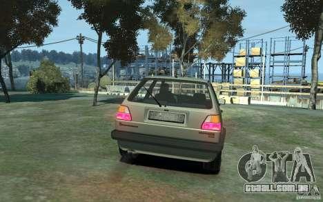 Volkswagen Golf II GTI para GTA 4 vista direita