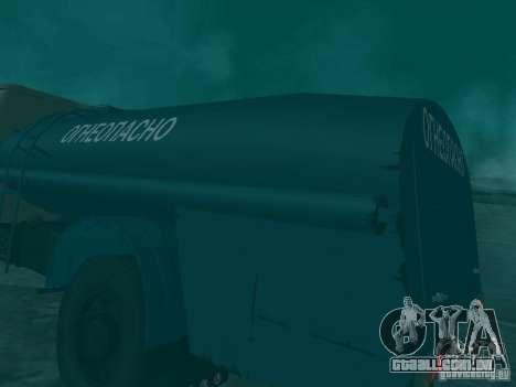 MAZ 503 para vista lateral GTA San Andreas
