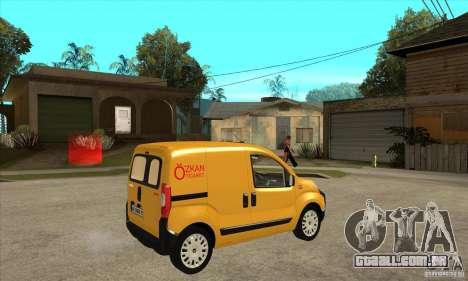 Citroen Nemo 2010 para GTA San Andreas vista direita