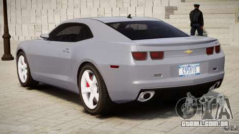 Chevrolet Camaro SS 2009 v2.0 para GTA 4 vista inferior