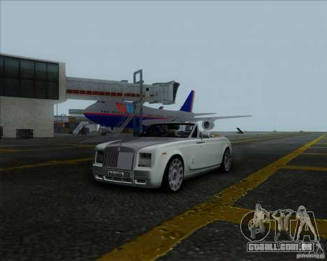 Rolls Royce Phantom Series II Drophead Coupe 12 para GTA San Andreas vista direita