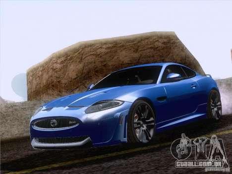 Jaguar XKR-S 2011 V2.0 para GTA San Andreas vista interior