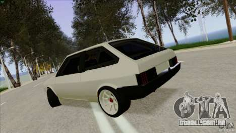 ВАЗ 2108 Sport para GTA San Andreas vista direita