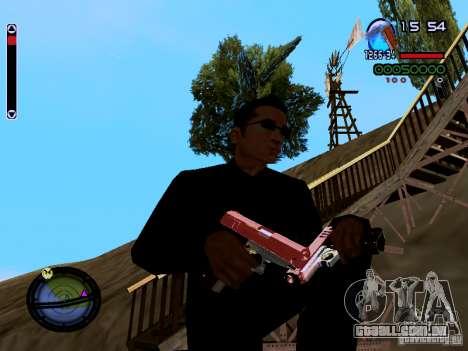 Ice Weapon Pack para GTA San Andreas nono tela
