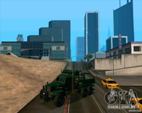 KrAZy Crocodile para GTA San Andreas esquerda vista